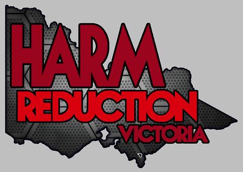Harm reduction victoria logo