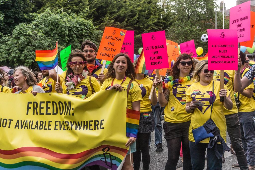 DUBLIN 2015 LGBTQ PRIDE PARADE [WERE YOU THERE] REF-105977