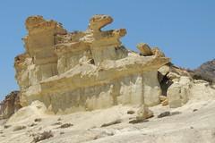 Erosiones de Bolnuevo (Wurzel) Tags: sculpture de spain sand natural erosion espana murcia strata geology geological mazarron bolnuevo costacalida erosiones erosionesdebolnuevo