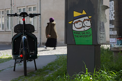 Where did all the hipsters go? - Copenhagen series (' A r t ') Tags: street streetart bicycle copenhagen denmark arthur raw outdoor hipster valby kissmama wheredidallthehipstersgo cammelbeeck arthurcammelbeeck