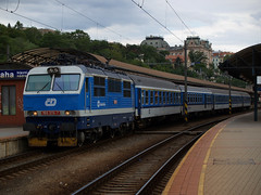 ČD 150 213 (jvr440) Tags: railroad train prague prag praha class 150 locomotive railways trein praag spoorwegen locomotief nádraží hlavní čd české dráhy