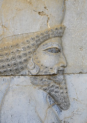 Bas-relief Depicting A Persian Guard, Fars Province, Persepolis, Iran (Eric Lafforgue) Tags: old sculpture detail art heritage history tourism archaeology monument vertical architecture outdoors photography persian carved site ancient asia day iran arts ruin persia nobody nopeople unescoworldheritagesite relief orient past civilisation thepast persepolis basrelief achaemenid persianculture artandcraft traveldestinations   ancientcivilisation colourimage  iro malelikeness  humanrepresentation farsprovince achaemenidempire  iran150259