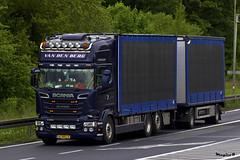 "Scania R Streamline Topline "" VAN DEN BERG "" (NL) (magicv8m) Tags: berg den transport van trans livestock scania streamline lkw tir"