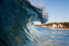 Narrabeen beach (Rob Walwyn) Tags: art beach water swim canon lens 50mm surf mark f14 iii sydney sigma beaches housing 5d series northern essex narrabeen slantx