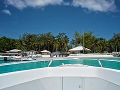 Underway Fishing Trip (Ken Cruz --- Fernweh) Tags: water island fishing aqua turquoise indianocean bluewater boating tropical diegogarcia boatride islandlife deepsea clearskies deepseafishing islandstyle