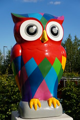 The Big Hoot - The Big Hoot (tim ellis) Tags: uk statue birmingham owl publicart eastside millenniumpoint thebighoot