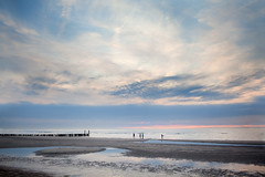 summerevenings (by Annika) Tags: sea summer beach evening northsea summerevenings
