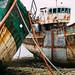 Epaves dans le port de Camaret-sur-mer