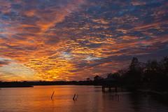 Brilliant Sunset (ertolima) Tags: landscape light river water sky sunset northcarolina newbern