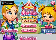 bad kids babysitter carnival (Friv games) Tags: bad kids babysitter carnival friv games online