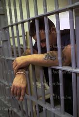 LockDown - GOR-15049V (retimunloe) Tags: lockdown prison inmate linearcell jail jailhousetattoos bars depression pcso putnamcountyjail handonbars confinement captivity incarceration lockedup offender jailcell detention felon criminal imprison convicted convict palalka fl unitedstates