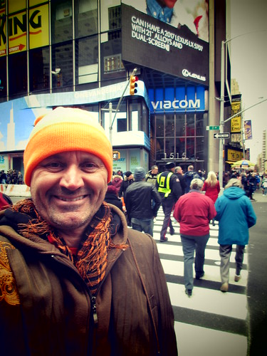 Ryan Janek Wolowski at the World headquarters for Viacom Media Networks 1515 Broadway in Times Square New York City, USA