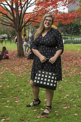 2016-10-17 Shannon Weber Portraits 002 (consolecadet) Tags: portraits bostoncommon bostonpublicgarden autumn fall femme professor blackdress outdoors
