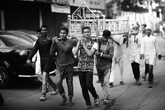 Another one has perished it seems.... (N A Y E E M) Tags: boys youngmen carrier janaza funeral deadbody candid afternoon friday street dampara cdaavenue chittagong bangladesh windshield