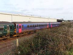 153380 & 153318 Longrock TMD (Marky7890) Tags: gwr 153318 class153 supersprinter longrocktmd railway penzance cornwall train 153380