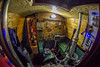 Engine room (chaotic river) Tags: little gypsy narrow boat engine room lister sr2 diesel samyang fish eye