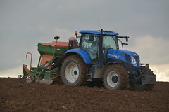 New Holland T7.200 Tractor with an Amazone AD-P Super 2000 Seed Drill & Power Harrow (Shane Casey CK25) Tags: new holland t7200 tractor amazone adp super 2000 seed drill power harrow cnh nh blue one pass onepass newholland casenewholland shanballymore sow sowing set setting drilling tillage till tilling plant planting crop crops cereal cereals county cork ireland irish farm farmer farming agri agriculture contractor field ground soil dirt earth dust work working horse horsepower hp pull pulling machine machinery grow growing nikon d7100 traktor tracteur traktori trekker trator ciągnik