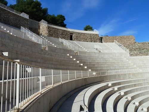 Restored Roman Theatre at Seguntum_Sagunto  (once_