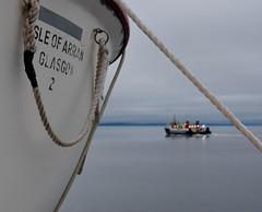 MV Isle of Arran Life Boat (Russardo) Tags: clyde scotland sea calmac cal mac caledonian macbrayne