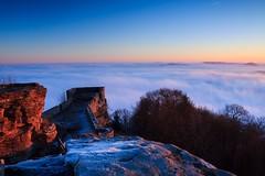 (Tim Scholz) Tags: ruine wegelnburg pfälzerwald 1200d eos canon rheinlandpfalz sonnenaufgang sunrise