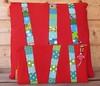 bright birch trees cushion and pouch (mANdarien) Tags: quilt cushion pouch