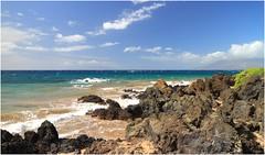 Makena Beach, Maui (kcezary) Tags: makenabeach maui hawaii efm1855mmf3556isstm hoyahd3cpl eosm canon