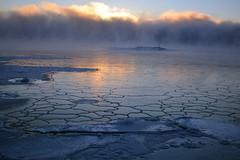Freezing sea and sea smoke at -20°C (Kallahti, Helsinki, 20170106) (RainoL) Tags: 2017 201701 20170106 cold d5200 fin finland geo:lat=6018405975 geo:lon=2515473723 geotagged helsingfors helsinki ice kallahdenniemi kallahti kallvik kallviksudden nordsjö nyland seafog seasmoke uusimaa winter vuosaari