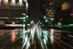 Forward on a Rainy Road (A Great Capture) Tags: lights traffic rain wet movement night toronto raining january cityscape urbanscape eos digital dslr agreatcapture agc wwwagreatcapturecom adjm ash2276 ashleylduffus ald mobilejay jamesmitchell on ontario canada canadian photographer northamerica torontoexplore winter l'hiver 2017 city downtown urban dark nighttime weather blur long exposure outdoor outdoors vibrant colorful cheerful vivid bright reflection streetphotography streetscape street calle railroad rail railtracks track tracks streetcar trolly motion overcast rainyday rainy cloudy