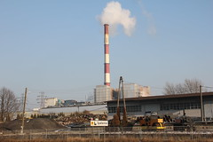 EC Karolin heating plant complex , Poznań 23.01.2017 (szogun000) Tags: poznań poland polska city buildings architecture industry industrial complex heatingplant smokestack elektrociepłownia eckarolin urban wielkopolskie wielkopolska greaterpoland canon canoneos550d canonefs18135mmf3556is