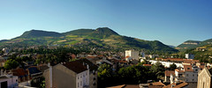 Panorama of Millau in the South of France (JRJ.) Tags: frankrike france village south midiprenees roquefort cheese panorama