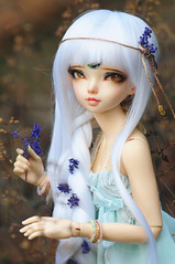 Lotus :D (Athena Roseanna Tse) Tags: bjd balljointeddoll doll abjd fairyland minifee mnf luka lotus