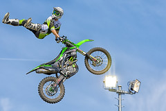 Remi Bizouard (malainxx24) Tags: blue sky sports bike speed french flying cool jump jumping nikon freestyle action extreme helmet bluesky move figure dirtbike tamron rider xtreme remi acrobatic motocroos bizouard