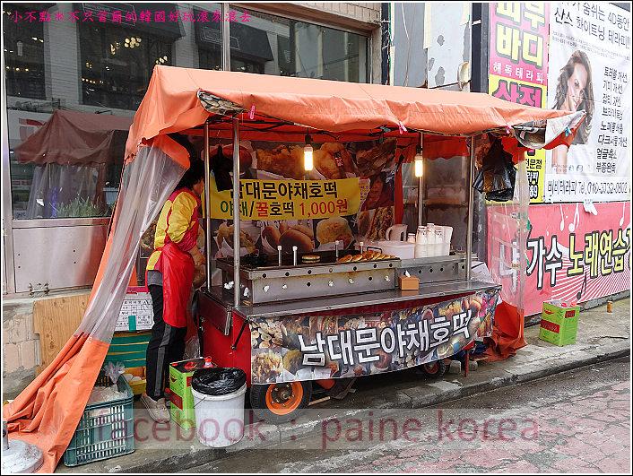 首爾望遠市場 海鮮糖餅 (1).JPG