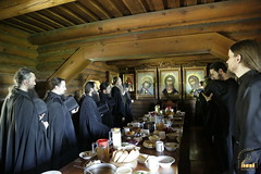 102. Patron Saint's day at All Saints Skete / Престольный праздник во Всехсвятском скиту
