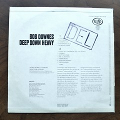 Backside Bob Downes - Deep Down Heavy, mfp 5130 (Piano Piano!) Tags: art cover lp sleeve hoes 12inch plaat langspeelplaat bobdownesdeepdownheavy mfp5130 coverarthoeshulle12inch discdisquerecordalbumlplangspeelplaatgramophoneschallplattevynilvinyl