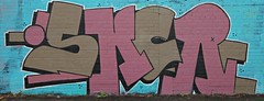 OSKER (In Memory of ColGould) Tags: streetart liverpool graffiti paint can aerosol osker
