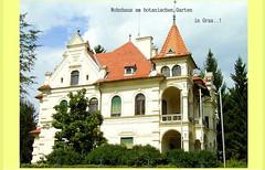 Besser wohnen... (Dieter14 u.Anjalie157) Tags: österreich sommer grau ausflug botanischergarten altehäuser