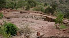 Igreja de So Jorge em Lalibela, Etipia (Samuel Santos) Tags: unesco jorge igreja sao lalibela rocha etiopia humanidade patrimnio giorgis
