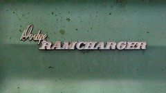 '80 RAMCHARGER (richie 59) Tags: trees summer usa ny newyork overgrown rural america truck emblem outside us weeds rust 4x4 weekend country sunday rusty dirty faded rusted tailgate dodge newyorkstate suv oldtruck nys 4wheeldrive backend wornout nystate fourwheeldrive hudsonvalley 2door castmetal 2015 dodgetruck fadedpaint ulstercounty greentruck twodoor americantruck midhudsonvalley olddodge ramcharger midhudson ulstercountyny caremblem oldsuv dodgeramcharger ustruck rustydodge 2010s dodgesuv americansuv greensuv richie59 1980struck june2015 1980dodge townofnewpaltzny townofnewpaltz ussuv 1980ssuv rustysuv june212015 1980dodgeramcharger 1980ramcharger