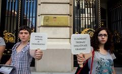 """Akcija ispred Sabora: """"Ispravak netočnog navoda"""""""