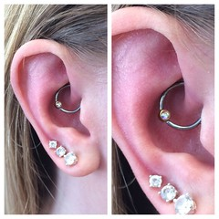Daith Piercing by Taylor Bell