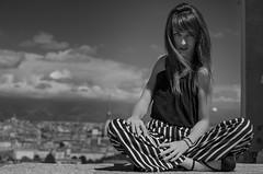 Portrait (Roberta Salamone Photography) Tags: portrait blackandwhite italy white black girl fashion torino italia piemonte e turin bianco ritratto piedmont nero biancoenero ragazza