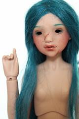 WIP Mousse (Haldis) (customlovers) Tags: mdr mousse torquoise haldis merrydollround