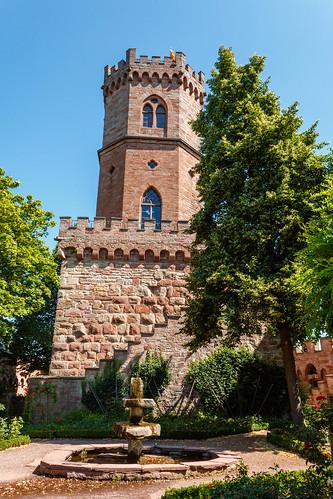 Schimmelturm - Château d'Ortenberg