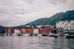 Bergen (bruit_silencieux) Tags: city travel norway architecture buildings landscape boat norge roadtrip unesco bergen scandinavia bryggen hordaland bydel