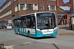 Arriva Midlands 2003 YY15NJZ (Andy4014) Tags: bus mira midlands enviro arriva hinckley yy15njz