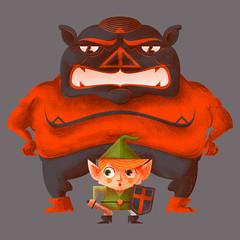 Legend of Zelda Doodle (simplified Ganon & Link version) (killingclipart) Tags: link zelda legendofzelda ganon nintendoodle
