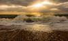 Crashing Waves (Anthony White) Tags: bournemouth england unitedkingdom gb waves beach dorsetuk dorset vibrant crashingwaves water sky nature zeiss art light clouds sun seascape winter sea dscrx100m3
