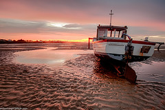 Meols Beach Sunset (13 of 14) (andyyoung37) Tags: boat meolsbeech merseyestuary beach greatsky sunset thewirral