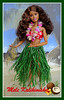 Mele Kalikimaka (Foxy Belle) Tags: barbie doll fashionistas made move skipper petite vintage hawaii lei red floral bikini tropical beach mele kalikimaka rebodied orange top kaikaina little sister mold curly hair fashionista tropics 24 coral crazy for crazyforcoral